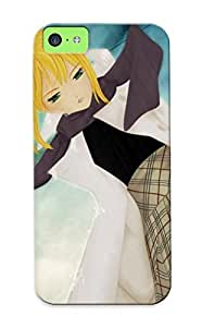 Case Cover Anime Girl Beautiful Beauty Girls Colors Happy Lovely / Fashionable Case For Iphone 5c
