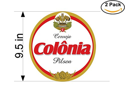 colonia-beer-logo-alcohol-4-vinyl-stickers-decal-bumper-window-bar-wall-95-inches