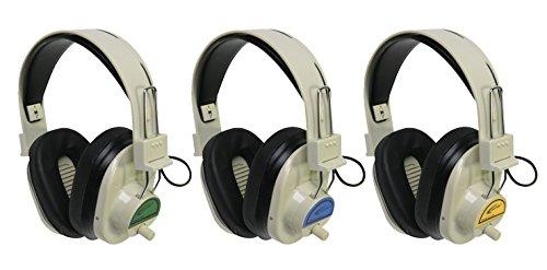 Califone 72.9 MHz Wireless Headphones, CLS729, Green