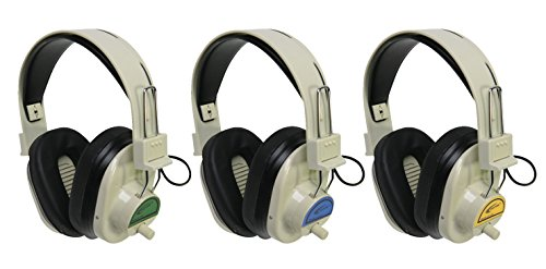 Califone Wireless Headphone - Califone 72.9 MHz Wireless Headphones, CLS729, Green