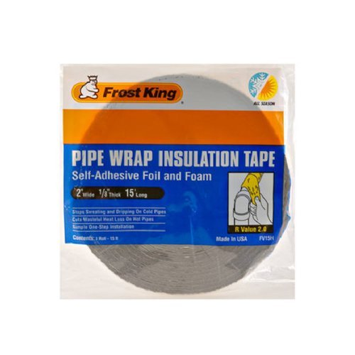 Thermwell Products FV15 Pipe Insulation, 2x15-Feet Size: Model: FV15 (Hardware & Tools Store) (Vip Insulation compare prices)