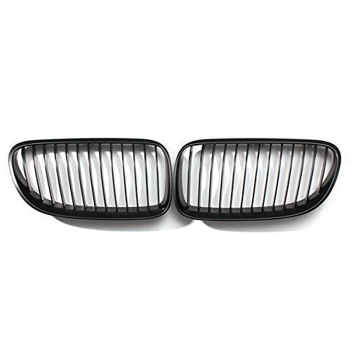 Front Kidney Grille Grills Matte Black for BMW E92 E93 3-Series LCI Facelift - Bieber Justin Lyrics Christmas Home