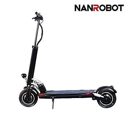 Amazon.com : NANROBOT D5+ Powerful Electric Scooter-10 inch Tires ...