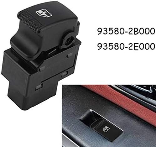 Kamenda 93580-2E000 Lot de 3 interrupteurs de l/ève-vitre /électrique pour Tucson 2005-2009 gauche droite//avant droit