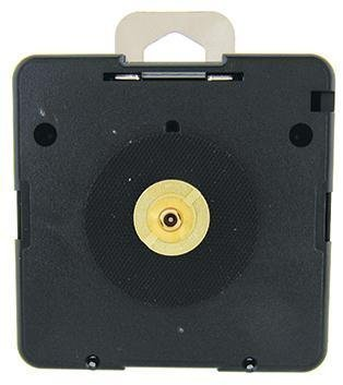 UTS German Euro Fitting (EF) Replacement Quartz Clock Movement (11mm, Open gold nut) by Vinyl Guru