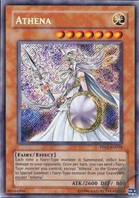 Athena Pack - Yu-Gi-Oh! - Athena (PP02-EN018) - Premium Pack 2 - Unlimited Edition - Secret Rare
