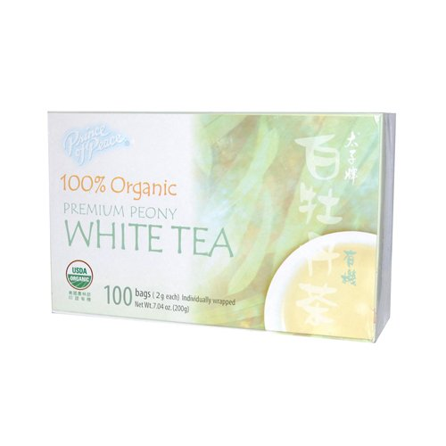 Prince of Peace Organic White Tea 100 Count, (Peace Green Tea)