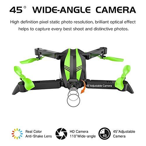 Remote Control Aircraft GW68 Mini Drone Folding Aerial Vehicle Remote Control Aircraft WiFi Quadcopter by puremood (Image #5)