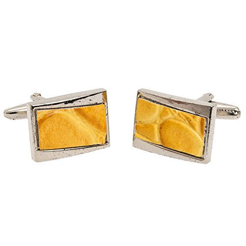 Leather And Silver Cufflinks - 6