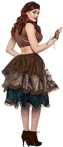 Forum Novelties Women's Standard Steampunk Bustle, Multi, Standard -