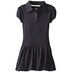 U.S. Polo Association  Little Girls'  Ruffle Bottom Knit Dress