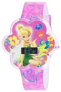 Disney Kids' TNK579 Fairies Molded Digital Watch