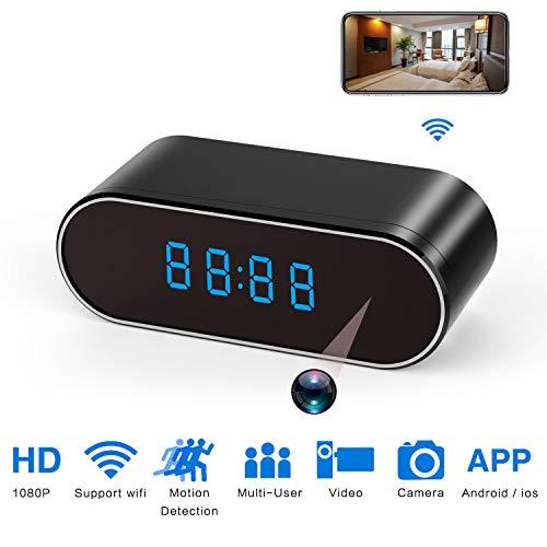 Hidden Spy Camera Clock HD 1080P Network Cameras with Night