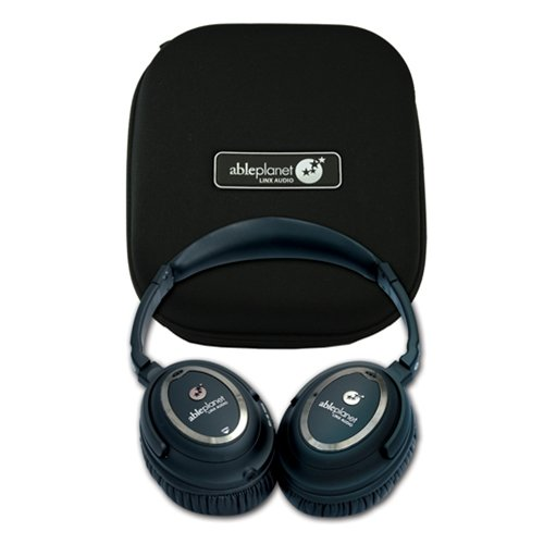 AblePlanet Clear Harmony Around the Ear Noise Cancelling Headphones - Black Noise Cancelling Headphones - NC1000CH