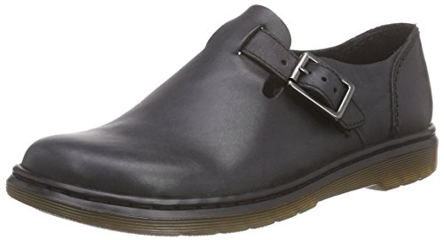 Black Casual Oxfords Martens Buckle Patricia Leather Women's Dr ZXqFz0P