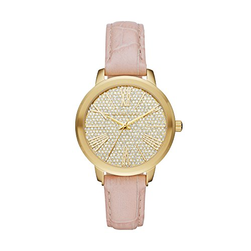 mk watches pink dial - 7