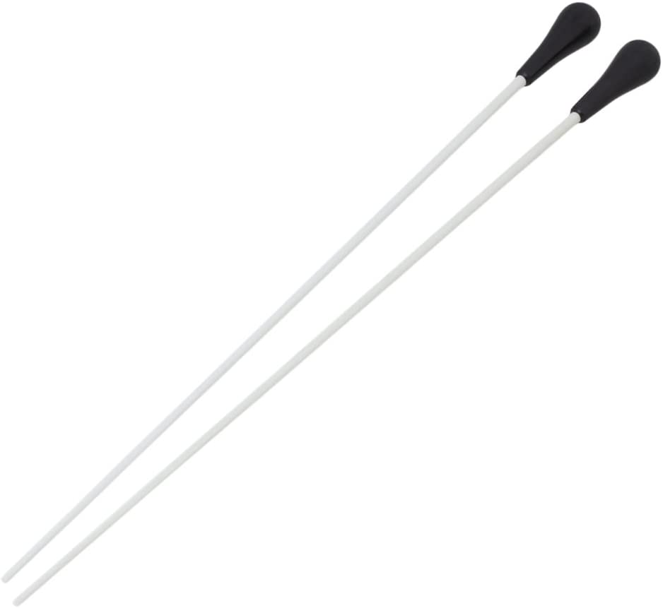 "BQLZR 1 Pair 15"" Music Conductor Baton with Black ABS Handle"