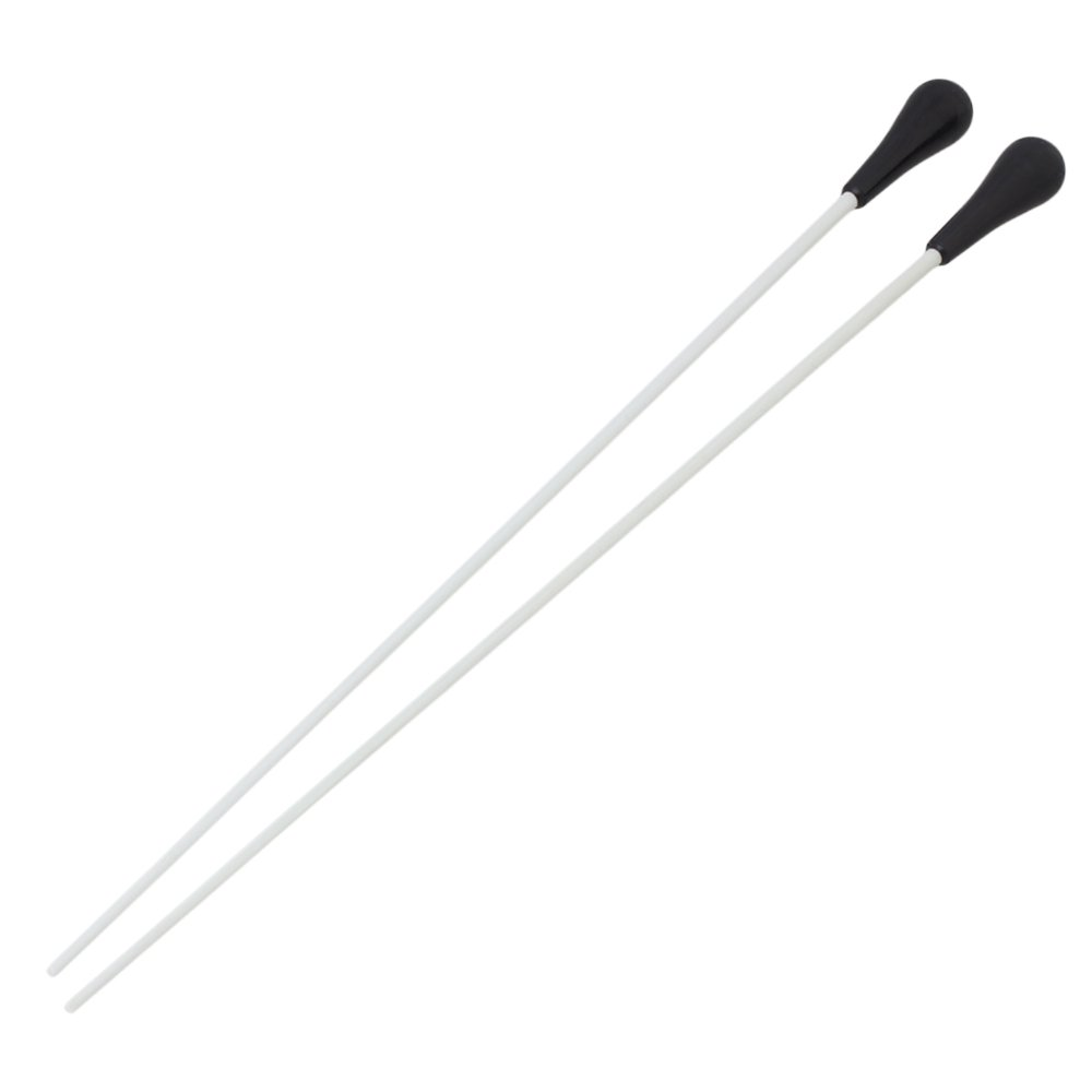 BQLZR 1 Pair 15'' Music Conductor Baton with Black ABS Handle