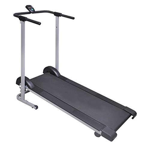 SKB Family Folding Manual Treadmill Running Machine Cardio Fitness New Power Training Home Gym by SKB Family
