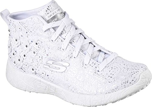 Skechers Burst Seeing Stars High Top Donna Tessile Scarpe ginnastica