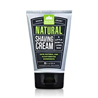 Pacific Shaving Company Natural Shave Cream - With Safe, Natural, and Plant-Derived Ingredients for a Smooth Shave, Softer Skin, Less Irritation, Cruelty Free, TSA Friendly, Made in USA, 3.4 oz