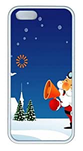 Gimbels ThanksgivIng Day TPU Case Cover for iPhone 5 and iPhone 5s White