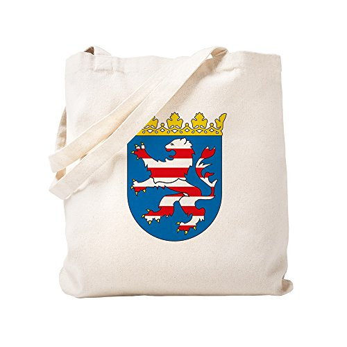 CafePress - Hessia Coat Of Arms - Natural Canvas Tote Bag, Cloth Shopping Bag by CafePress (Image #2)