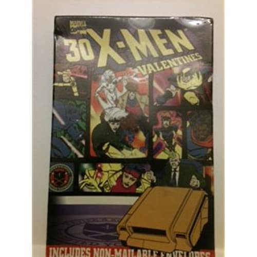 Marvel Comics X-MEN Valentines with Non-Mailable Envelopes 30 Count Sales