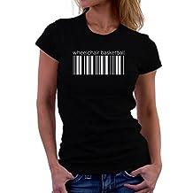 Wheelchair Basketball barcode Women T-Shirt