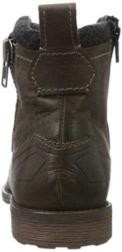 Bugatti 311386312200, Stivali Uomo Marrone (Dark Brown)