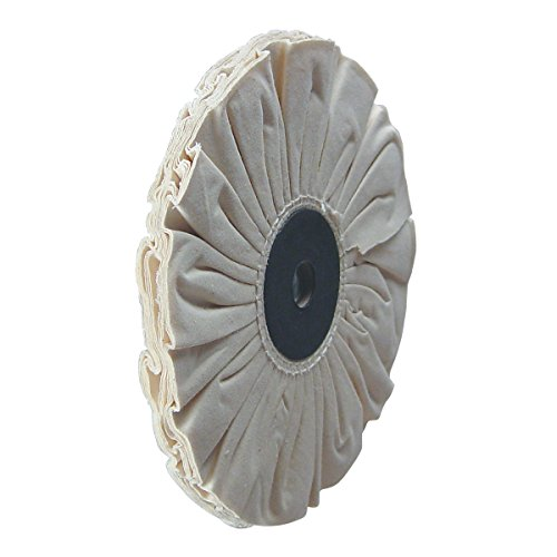 10'' Compressed Buffing Wheels 8455-41, Fits 7/8'' Arbor Hole, Made in USA by TP Tools