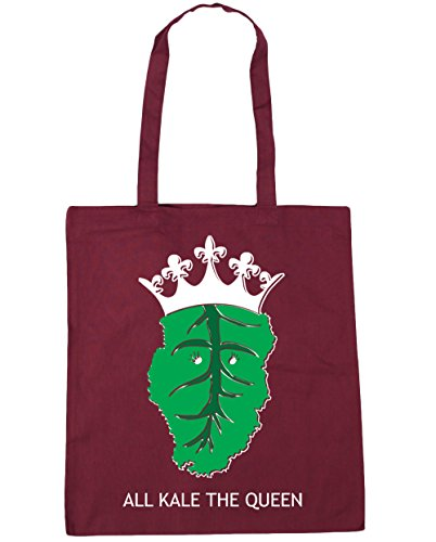 42cm Bag Kale litres Tote Burgundy The Shopping x38cm Queen HippoWarehouse Gym All Beach 10 CzxBFCwRq
