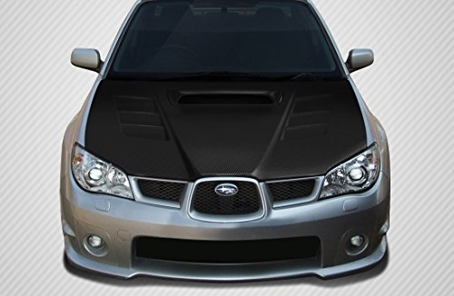 (Carbon Creations Replacement for 2006-2007 Subaru Impreza WRX STI GT Concept Hood - 1 Piece)