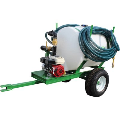 Turbo Turf Pull-Type Jet Hydroseeding Unit 100-Gallon Capacity, Model# HS-100-P