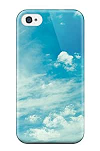 Awesome SfiuWTB5266HeeqP AnnaSanders Defender Tpu Hard Case Cover For Iphone 4/4s- Sky Earth Nature Sky
