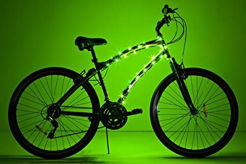 Brightz CosmicBrightz LED Bicycle Frame Light, Green