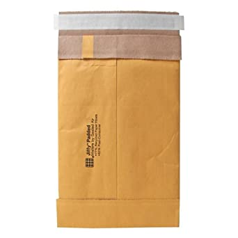 Quality Park Sealed Air Jiffy Padded Mailer, Self Seal, #0, 6 x 10 Inches, Pack of 250 (SEL85871)