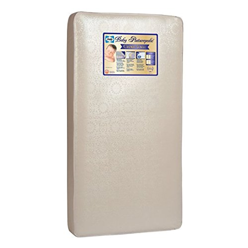 Sealy Baby Hypoallergenic and Tear-Resistant Cover Posturepedic Crown Jewel Crib Mattress