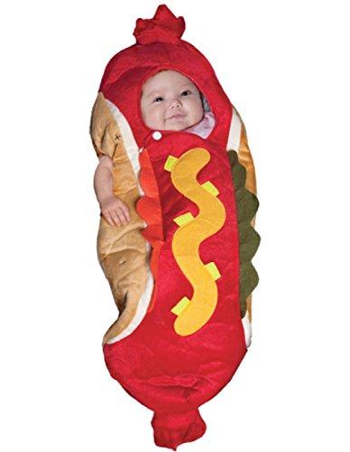 [Underwraps Baby's Lil' Hot Dog, Red/Multi, Infant] (Hot Dog Costume Women)