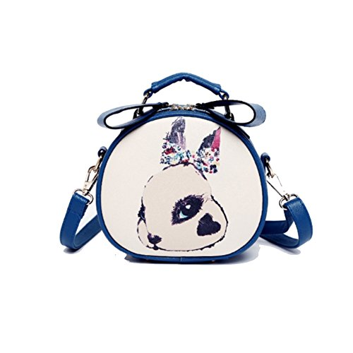 MAINLYCOR CHB880435C2 Fashionable PU Leather Fashion Women's Handbag,Round-Shaped Box Other