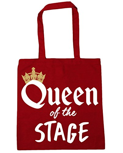 Tote of Gym x38cm Shopping Bag the Beach 10 Classic Queen HippoWarehouse litres Stage Red 42cm vIw5YWq