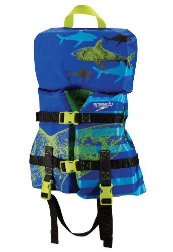 Speedo Infant Personal Flotation Device, Blue Shark, 30-Pound