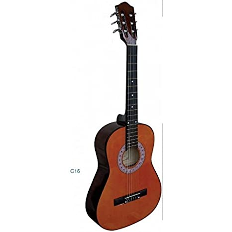 GUITARRA CLASICA INFANTIL Rocio (Cadete C16) 3/4 (90 Cm.) Natural: Amazon.es: Instrumentos musicales