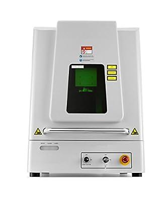 HobbylaseTM G20 Desktop Hobby Laser Marking System, Laser Engraving Machine, Fiber Laser
