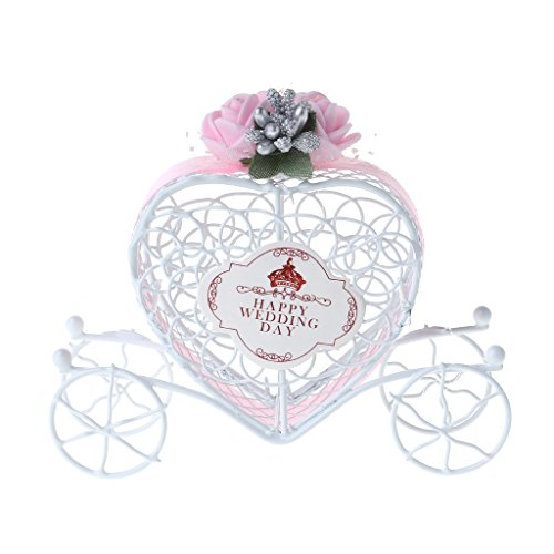 Poity Cinderella Carriage Chocolate Candy Box Birthday Wedding Party Favour Decor Gift