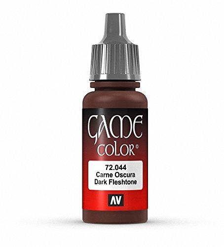 Vallejo Game Color Dark Fleshtone Paint, 17ml