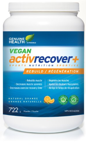Genuine Health Activrecover+ Vegan Plant Based