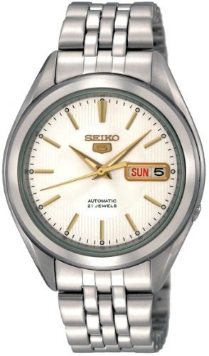 Seiko-Mens-SNKL17-Stainless-Steel-Analog-with-Silver-Dial-Watch