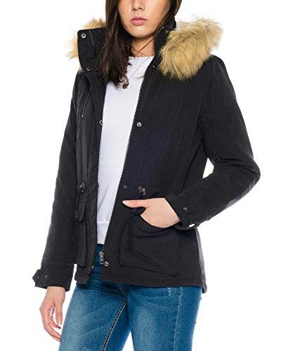 Parka Fur Only Onlstarlight Aw Donna Nero Cc Otw RqSFTxtwS