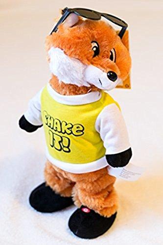 Twerking Dancing Plush Fox [Song - Fireball]
